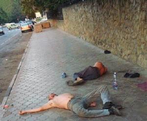 Алкоголики и пьяницы