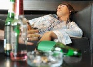 После запоя. Состояние алкоголика