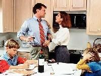 алкоголик и его семья